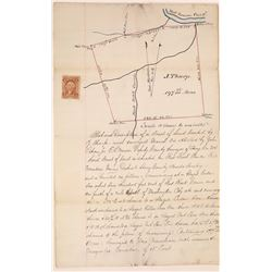 Land Survey of Property in the Red Mountain Mining District   [131304]