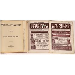 Three Mining Journals - 1898, 1904, 1907  [123823]