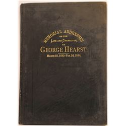 George Hearst Memorial Book, 1894  [131078]