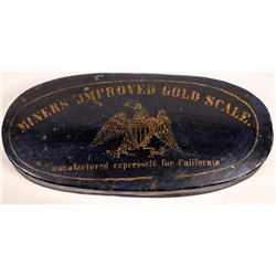Miners Improved Gold Scale For California  [129068]