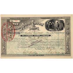 Gunsight Mining Company Stock Certificate  [129853]