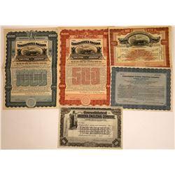 Consolidated Arizona Smelting Company Stocks & Bonds  [113847]