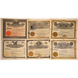 Arizona Gold Mining Stock Certificate Group  [113890]