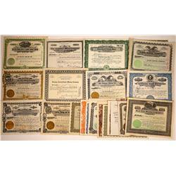 Arizona Mining Stock Certificate Collection  [113880]