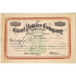 Giant Powder Company Stock Certificate, 1919  [128874]