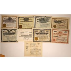 Colorado Mining Stocks Issued in Denver  [113883]