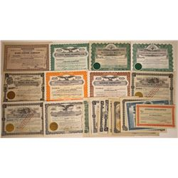 Idaho Mining Stock Certificate Collection  [113885]