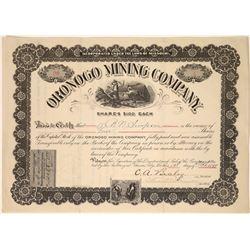 Oronogo Mining Company Stock, Missouri, 1899  [128888]
