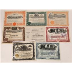 Butte Montana Mining Stock Collection  [123968]