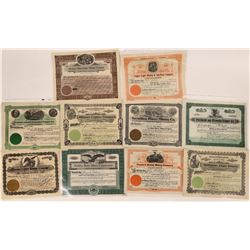 Butte, Montana Mining Stock Collection  [123976]
