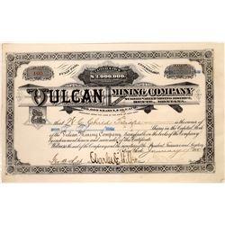 Vulcan Mining Company Stock Certificate  [129574]