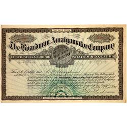 Boardman Amalgamator Company Stock Certificate  [113866]