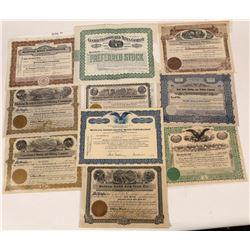 Helena, Montana Stock Certificates  [123997]