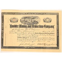 Boulder Mining & Reduction Co. Stock Issued to Montana Governor  [129596]