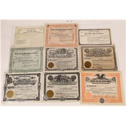Lewis & Clark County Mining Stock Collection  [123961]