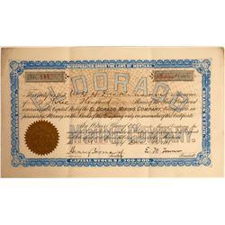 El Dorado Mining Company Stock Certificate  [129624]