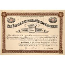 Little Anaconda Mining Company Stock Certificate  [113862]