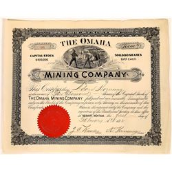 Omaha Mining Company Stock Certificate  [127173]