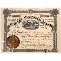 Magnet Mining Company Stock Certificate  [127175]