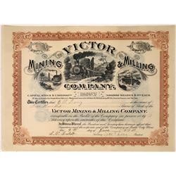 Victor Mining & Milling Company with three great vignettes  [123878]