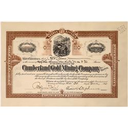 Cumberland Gold Mining Company Stock for 3,407 shares making Peter Ross the majority owner  [123868]