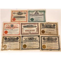 Mineral, Lincoln, Flathead 1900's Mining Stocks, Montana  [123994]