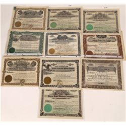 Montana Coal Mining Stock Certificate Collection  [123984]