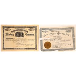 Two Different Damaged Montana Mining Stocks  [129607]