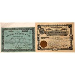 Two Different Montana Mining Stocks: Potosi MC and Farrel Copper Co.  [113867]
