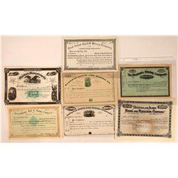 Unissued Montana Mining Stocks, pre-1900  [129571]