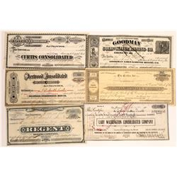 Gold Hill & Silver City, Nevada Mining Stock Collection  [113976]