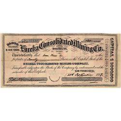 Eureka Consolidated Mining Co.  [129860]
