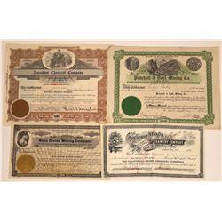 Reno Area Mining Stock Certificates  [113845]