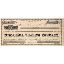 Tuscarora Trading Company Stock, Rare Cert. #1, Nevada, 1889  [128884]