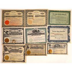 Miscellaneous Nevada Mining Stock Group  [113878]