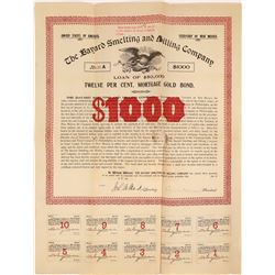New Mexico Territory Smelting & Milling Company Stock Certificate  [127004]