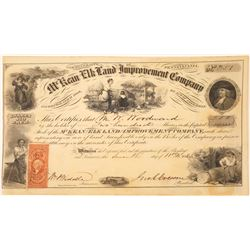 McKean & Elk Land & Improvement Co. Stock Certificate  [107958]