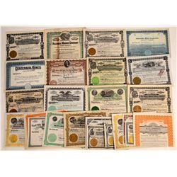 Washington State Mining Stock Collection: Spokane-Based Companies  [113875]