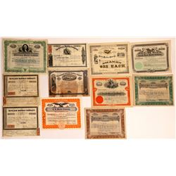 Marble Company Stock Certificates (11)  [127406]