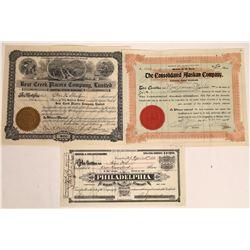Three Western Mining Stocks  [128823]