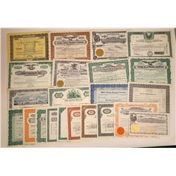 Uranium Mining Stock Certificate Collection  [113896]
