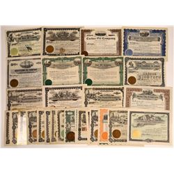 Arizona Oil Stock Group, Many Pre-1920 (30)  [128731]