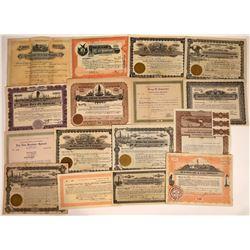 Arkansas Oil Stock Collection (16)  [128752]