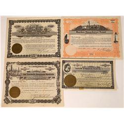 Arkansas Oil Syndicate Stock Certificates (4)  [127478]