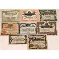 Assorted Petroleum Stock Certificates (8)  [127834]
