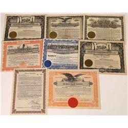 California Oil Syndicate Stock Certificates (8)  [127474]