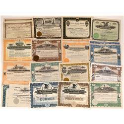 Colorado Gas  & Petroleum Company Stock Certificates (20)  [127450]
