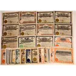 Montana Oil Stock Certificate Collection (35)  [128753]