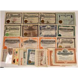Oklahoma Oil Stock Collection (100+)  [128750]