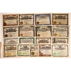 Oregon Oil Stock Certificates, 1907-1920's (17)  [128728]